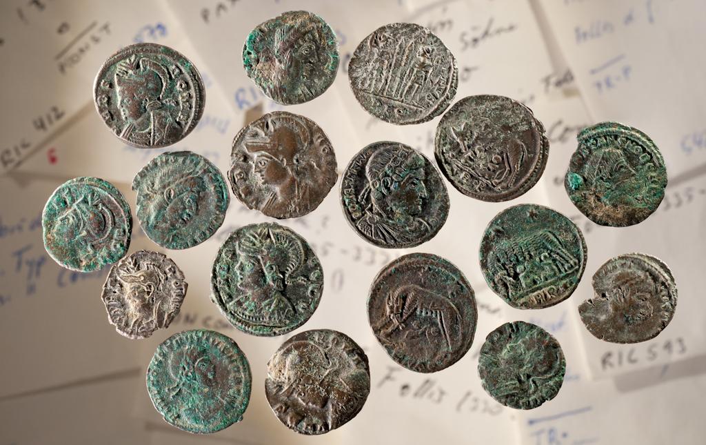 Münzen aus Hauen